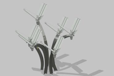 Turbine ad asse verticale Eliwind